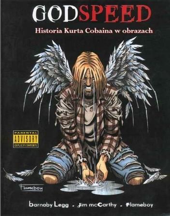Okładka książki Godspeed - historia Kurta Cobaina w obrazach