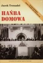 Okładka książki Hańba domowa. Rozmowy z pisarzami
