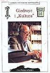 """Okładka książki Giedroyc i """"Kultura"""""""