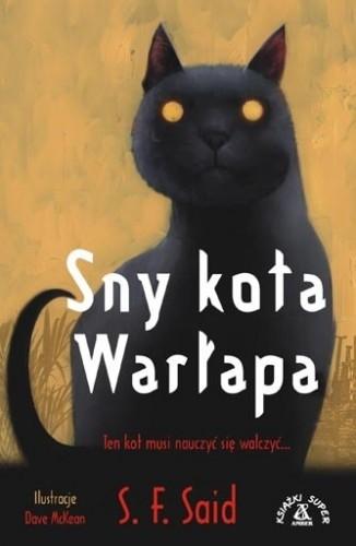 Okładka książki Sny kota Warłapa