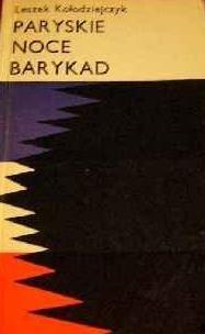 Okładka książki Paryskie noce barykad
