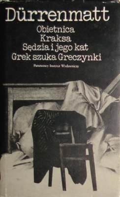 Okładka książki Obietnica. Kraksa. Sędzia i jego kat. Grek szuka Greczynki