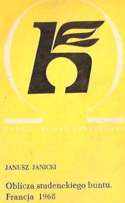 Okładka książki Oblicza studenckiego buntu : Francja 1968