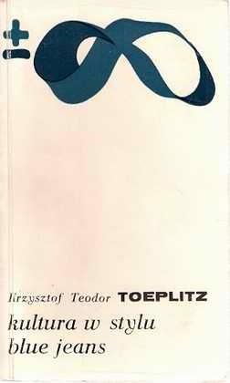Okładka książki Kultura w stylu blue jeans