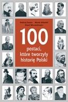 Okładka książki 100 postaci, które tworzyły historię Polski