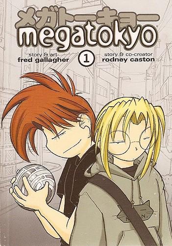 Okładka książki Megatokyo #1
