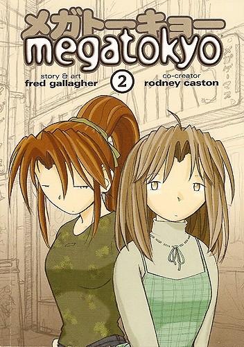 Okładka książki Megatokyo #2
