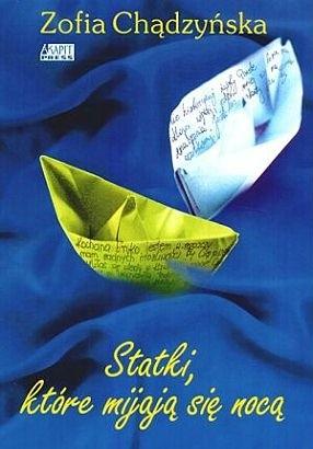 Okładka książki Statki, które mijają się nocą