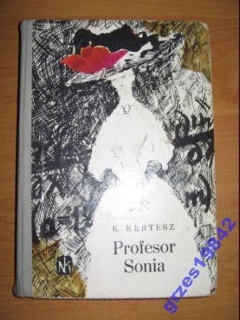 Okładka książki Profesor Sonia