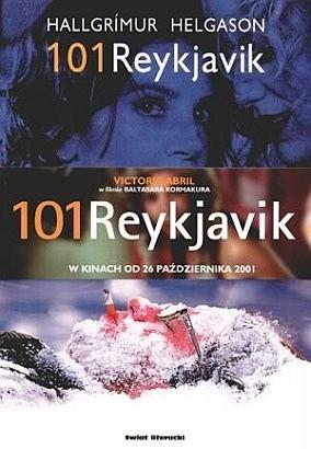 Okładka książki 101 Reykjavik