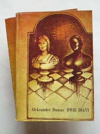 Okładka książki Dwie Diany 1-2