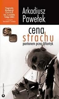 Okładka książki Cena strachu: Pontonem przez Atlantyk