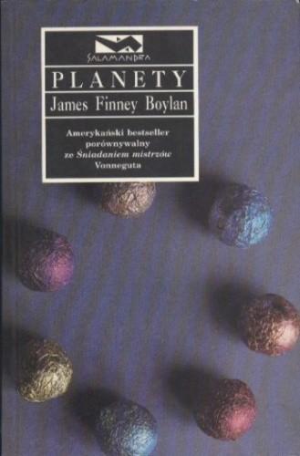 Okładka książki Planety