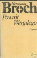 Okładka książki Powrót Wergilego