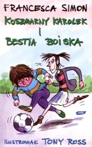 Okładka książki Koszmarny Karolek i Bestia Boiska