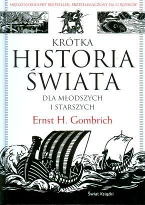 Okładka książki Krótka historia świata dla młodszych i starszych