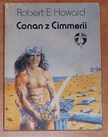 Okładka książki Conan z Cimmerii