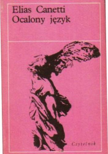 Okładka książki Ocalony język. Historia pewnej młodości
