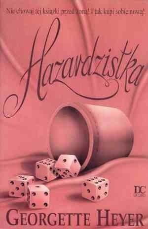 Okładka książki Hazardzistka