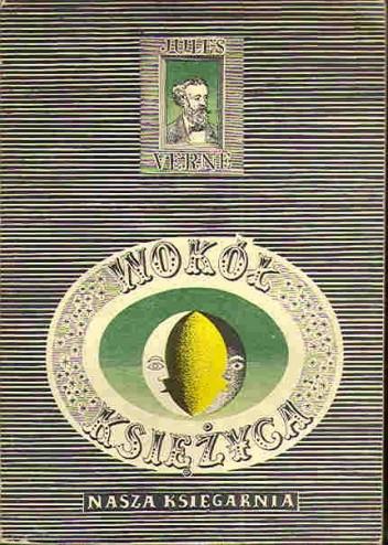 Okładka książki Wokół Księżyca