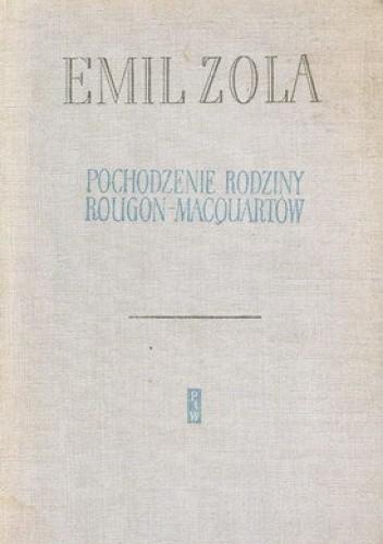 Okładka książki Pochodzenie rodziny Rougon-Macquartów