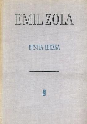 Okładka książki Bestia ludzka