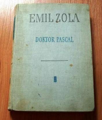 Okładka książki Doktor Pascal
