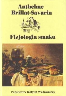 Okładka książki Fizjologia smaku