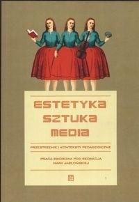 Okładka książki Estetyka sztuka media