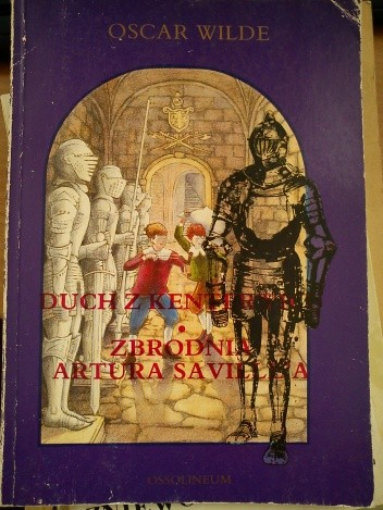 Okładka książki Duch z Kenterwilu. Zbrodnia Artura Savile'a