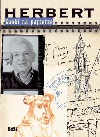 Okładka książki Znaki na papierze Zbigniew Herbert