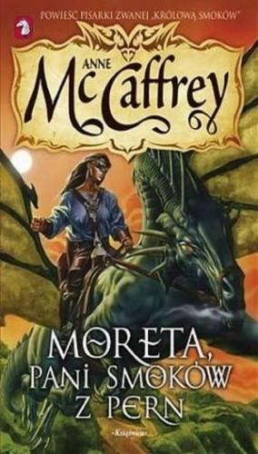 Okładka książki Moreta, pani smoków z Pern