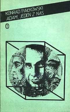 Okładka książki Adam, jeden z nas