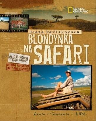 Okładka książki Blondynka na safari