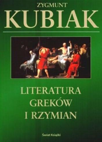 Okładka książki Literatura Greków i Rzymian