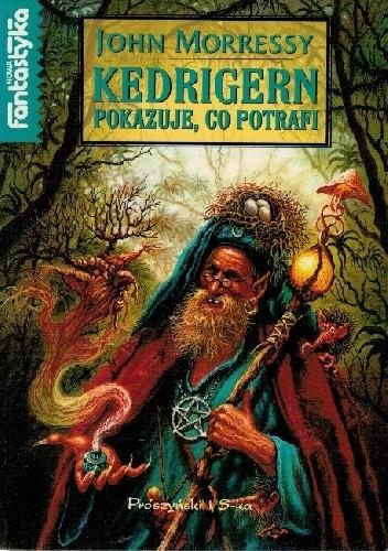 Okładka książki Kedrigern pokazuje, co potrafi