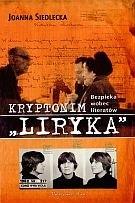 """Okładka książki Kryptonim """"Liryka"""". Bezpieka wobec literatów"""
