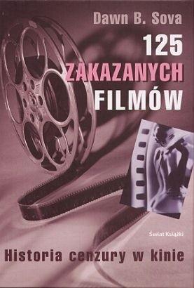 Okładka książki 125 zakazanych filmów
