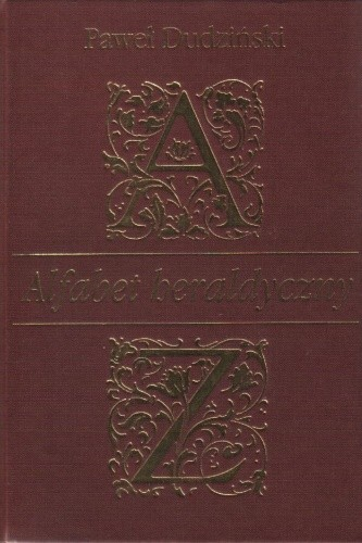 Okładka książki Alfabet heraldyczny