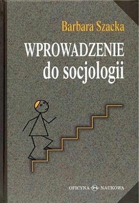 Okładka książki Wprowadzenie do socjologii