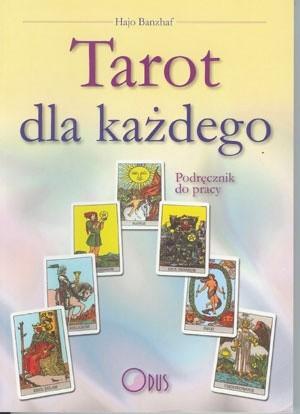 Okładka książki Tarot dla każdego. Podręcznik do pracy