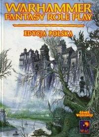 Okładka książki Warhammer Fantasy Role Play. Edycja Polska