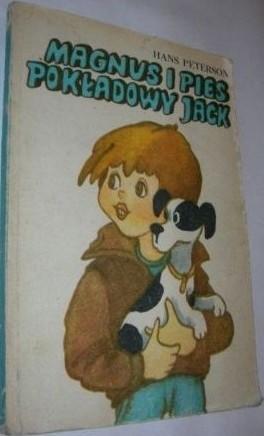 Okładka książki Magnus i pies pokładowy Jack