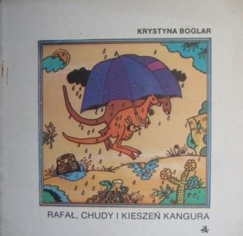 Okładka książki Rafał, chudy i kieszeń kangura