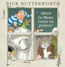 Okładka książki Albert le Blanc rusza na pomoc
