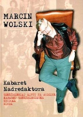 Okładka książki Kabaret Nadredaktora