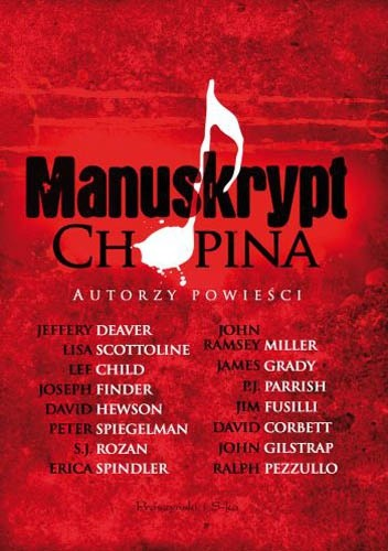 Okładka książki Manuskrypt Chopina