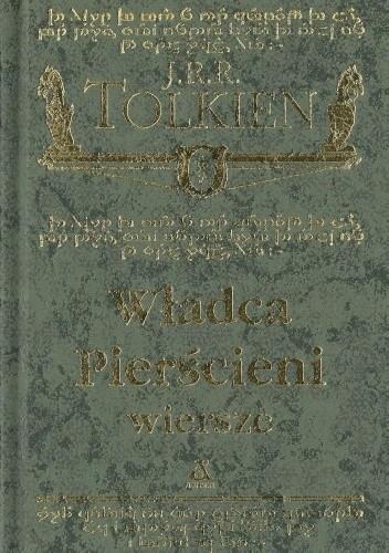 Okładka książki Władca Pierścieni - wiersze