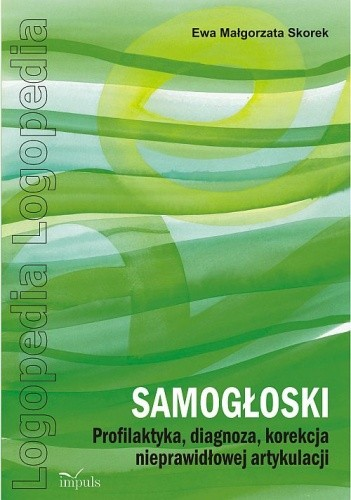 Okładka książki SAMOGŁOSKI Profilaktyka, diagnoza, korekcja