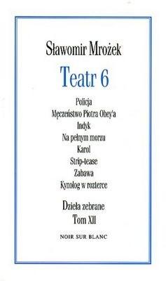 Okładka książki Teatr 6